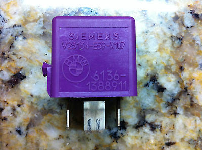 BMW Violet Purple Signal Relay Siemens  61.36-1388911  #1 388 911