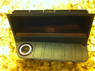 BMW E36 M3 328is 325i PREMIUM LUXURY PACKAGE BURL WOOD CENTER CONSOLE FRONT TRAY