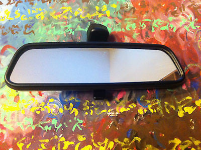 Genuine BMW E36 E46 M3 323I 328I COUPE SEDAN REAR VIEW MIRROR OEM Manual