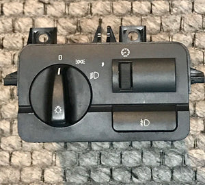 BMW E46 OEM Headlight Fog Light Switch with Dimmer 61.31-6 901 432