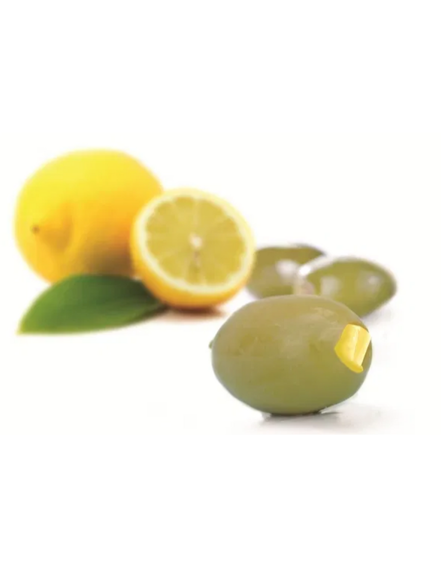 Lemon Stuffed Green Olives