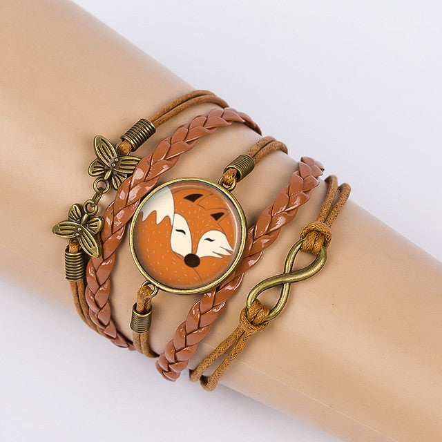 Fox Friendship Bracelet
