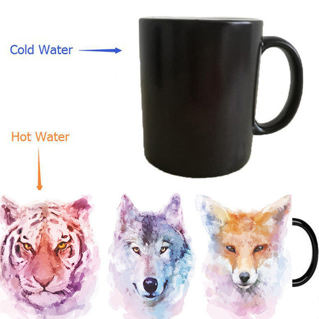 Tiger Wolf Fox Reveal Mug