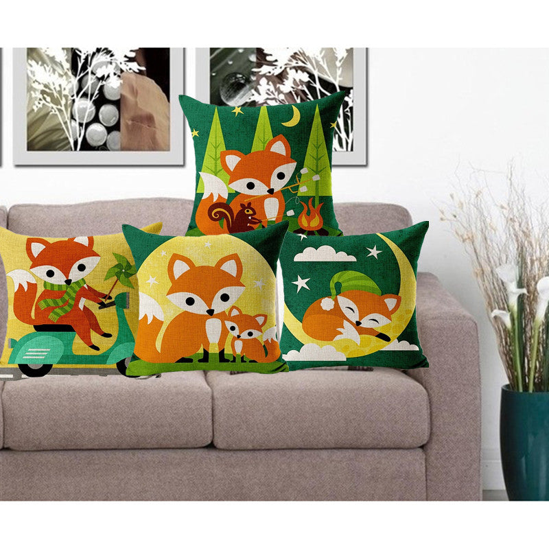 Baby Fox Pillow Cases