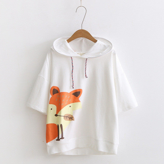 Limited Edition- Hooded Fox Tee
