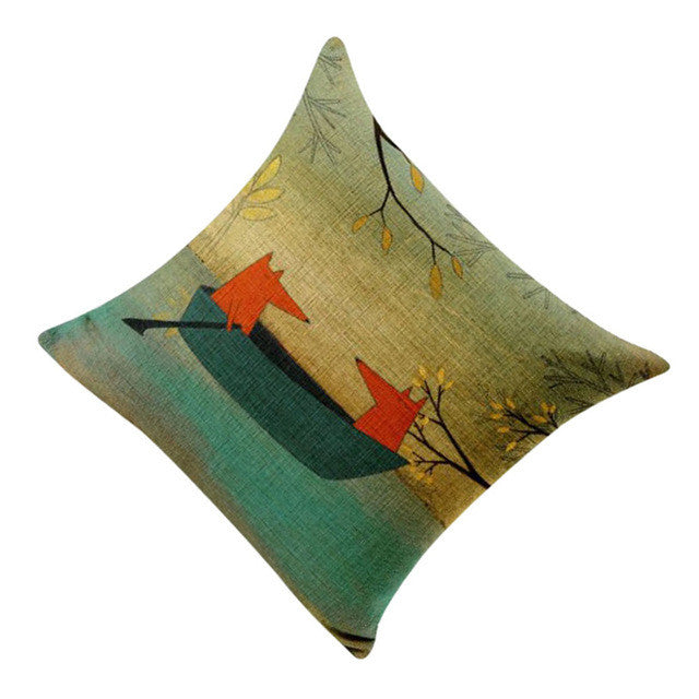 Adventurous Fox Pillow Case