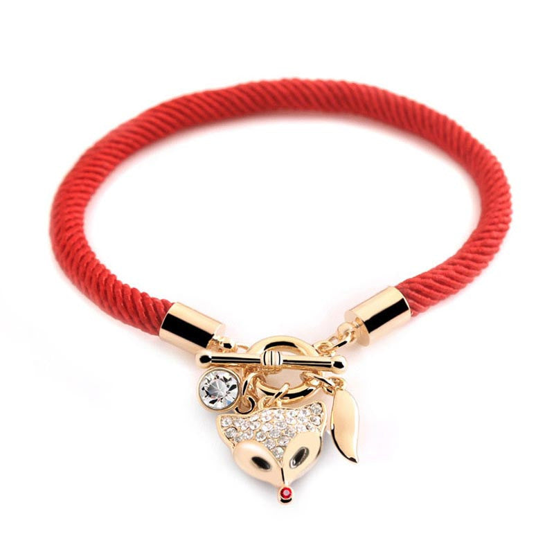 Limited Edition- Fox Rope Bracelet