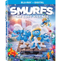 Smurfs: The Lost Village (Blu Ray) Pre-Owned: Disc and Case