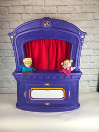 Step 2 Puppet Stage Theater with 2 puppets