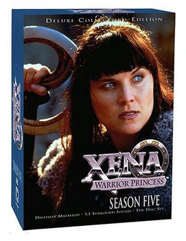 Xena: Warrior Princess (Season Five 5) (Deluxe Collector's Edition) (10 Disc Set) (DVD / Season) Pre-Owned: Discs, Case, and Box