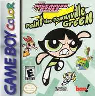 Powerpuff Girls: Paint the Townsville Green (Nintendo Game Boy Color) Pre-Owned: Cartridge Only