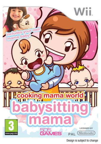 Babysitting Mama (Nintendo Wii) Pre-Owned: Game, Manual, and Case
