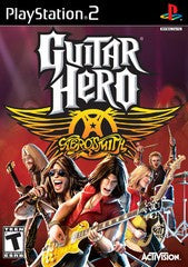 Guitar Hero Aerosmith (Playstation 2 / PS2) Pre-Owned: Game, Manual, and Case