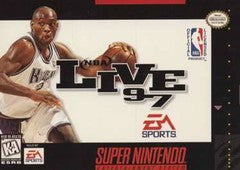 NBA Live 97 (Super Nintendo) Pre-Owned: Game, Manual, and Box