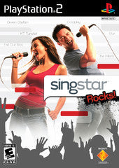 Singstar Rocks (Playstation 2 / PS2) Pre-Owned: Game, Manual, and Case