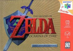 The Legend of Zelda Ocarina of Time Collectors Edition (Nintendo 64 / N64) Pre-Owned: Cartridge, Manual, and Box
