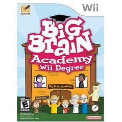 Big Brain Academy: Wii Degree (Nintendo Wii) Pre-Owned: Game, Manual, and Case