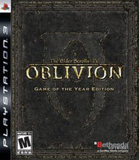 The Elder Scrolls IV: Oblivion - Game of the Year Edition (Playstation 3) Pre-Owned: Game, Manual, and Case