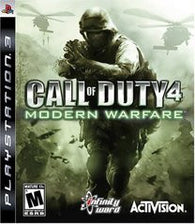 Call of Duty 4 Modern Warfare (Playstation 3) Pre-Owned: Game, Manual, and Case