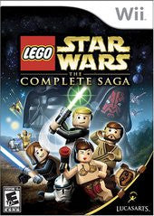 LEGO Star Wars Complete Saga (Nintendo Wii) Pre-Owned: Game, Manual, and Case