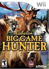 Cabela's Big Game Hunter (Nintendo Wii) Pre-Owned: Game, Manual, and Case