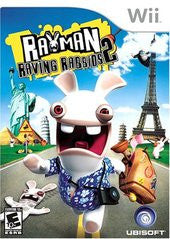 Rayman Raving Rabbids 2 (Nintendo Wii) Pre-Owned: Game, Manual, and Case