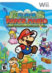 Super Paper Mario (Nintendo Wii) Pre-Owned: Game, Manual, and Case