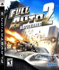Full Auto 2 Battlelines (Playstation 3) Pre-Owned: Game, Manual, and Case