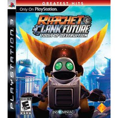 Ratchet and Clank Tools of Destruction (Playstation 3 / PS3) Pre-Owned: Game, Manual, and Case