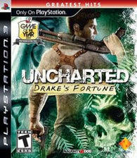 Uncharted Drake's Fortune (Playstation 3) Pre-Owned: Game, Manual, and Case