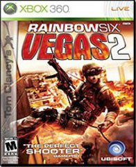 Rainbow Six Vegas 2 (Tom Clancy's) (Xbox 360) Pre-Owned: Game, Manual, and Case