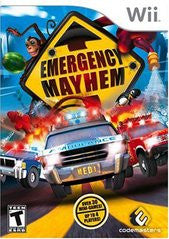 Emergency Mayhem (Nintendo Wii) Pre-Owned: Game, Manual, and Case