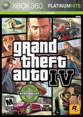 Grand Theft Auto IV (Xbox 360) Pre-Owned: Game, Manual, and Case