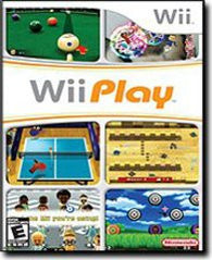 Wii Play (Nintendo Wii) Pre-Owned: Game, Manual, and Case