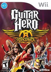 Guitar Hero Aerosmith (Nintendo Wii) Pre-Owned: Game, Manual, and Case