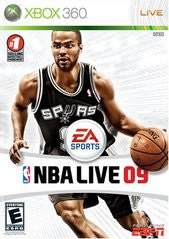 NBA Live 09 (Xbox 360) Pre-Owned: Game, Manual, and Case