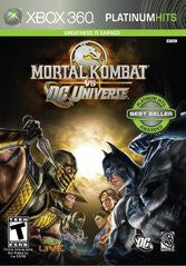 Mortal Kombat vs. DC Universe (Xbox 360) Pre-Owned: Game, Manual, and Case