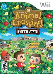 Animal Crossing City Folk (Nintendo Wii) Pre-Owned: Game, Manual, and Case