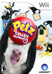 Petz Crazy Monkeyz (Nintendo Wii) Pre-Owned: Game, Manual, and Case
