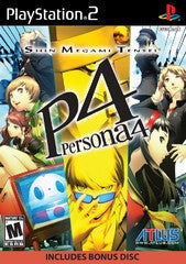 Shin Megami Tensei: Persona 4 (Playstation 2 / PS2) Pre-Owned: Game, Manual, and Case