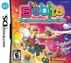 Elebits The Adventures of Kai and Zero (Nintendo DS) NEW