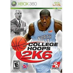 College Hoops 2K6 (Xbox 360) Pre-Owned: Game, Manual, and Case