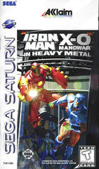 Iron Man X-O Manowar in Heavy Metal (Sega Saturn) Pre-Owned: Game, Manual, and Case