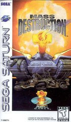 Mass Destruction (Sega Saturn) Pre-Owned: Game, Manual, and Case
