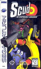 Scud The Disposable Assassin (Sega Saturn) Pre-Owned: Game, Manual, and Case