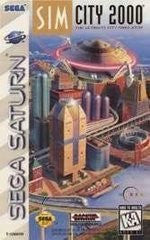 SimCity 2000 (Sega Saturn) Pre-Owned: Game, Manual, and Case*