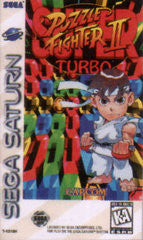 Super Puzzle Fighter II Turbo (Sega Saturn) Pre-Owned: Game, Manual, and Case