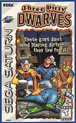 Three Dirty Dwarves (Sega Saturn) Pre-Owned: Game, Manual, and Case