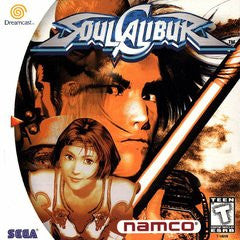 Soul Calibur (Sega Dreamcast) Pre-Owned: Game, Manual, and Case