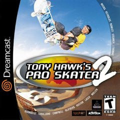 Tony Hawk's Pro Skater 2 (Sega Dreamcast) Pre-Owned: Game, Manual, and Case